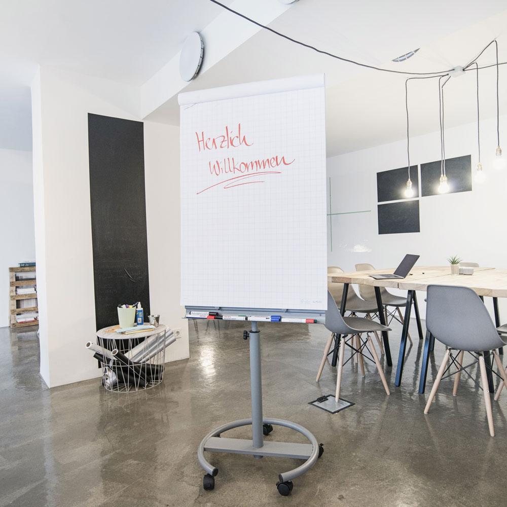 Flipcharts, Tafel-, und Präsentationsfolien