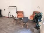 Sitzecke Studio links